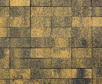"""Тротуарная плитка """"Классико"""" фактура Листопад, цвет: Соты, толщина 6 см"""