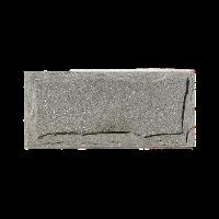 Плитка Златолит зеленый с заколом, толщина 20-25 мм
