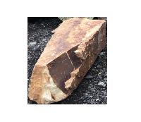 Глыба из златолита уральского (вес 580 кг)