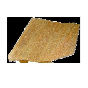 """Плитняк златолит желтый """"Золото инков"""" 5 см"""