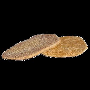 Плитняк Златолит желтый галтованный 2,5-3,5 см
