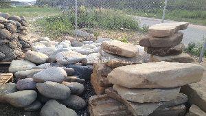 Валуны речные 100- 250 кг