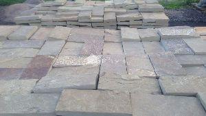 Плитка песчаник серо-зеленый 20х10х3 см
